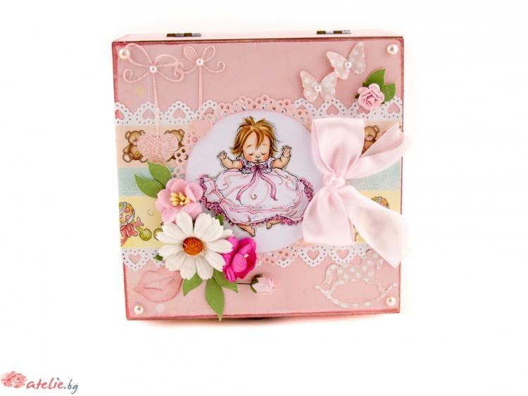 """Бебешка кутия """"Принцеса"""""""