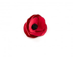 Червен пръстен цвете