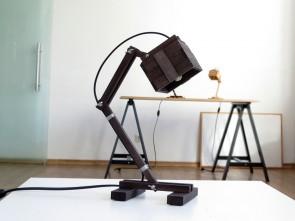"""Ръчно изработена лампа """"Кран """""""